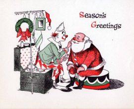 A Santa Claus Pun