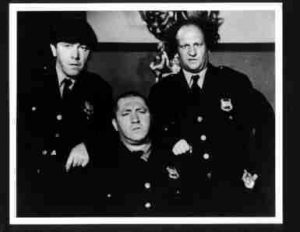 Three Stooges as police officers