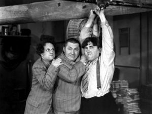 A-Plumbing We Will Go - the Three Stooges - Larry Fine, Curly Howard, Moe Howard