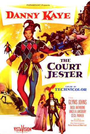 Funny movie quotes fromThe Court Jester(1956) , starring Danny Kaye, Glynnis Johns, Basil Rathbone, Angela Lansbury