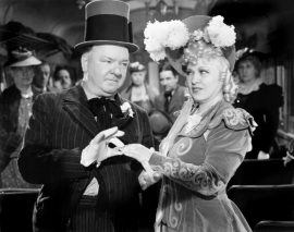 W. C. Fields and Mae West in My Little Chickadee