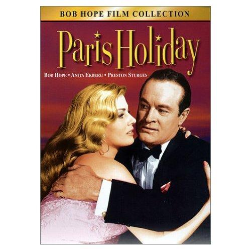 Paris Holiday, starring Bob Hope, Anita Eckberg