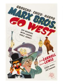 Funny movie quotes from Go West (1940) starring the Marx Brothers – Groucho, Chico, Harpo.