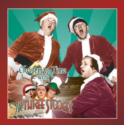 I Got a Cold for Christmas song lyrics, as sung by the Three Stooges (Moe Howard, Larry Fine, Curly Joe DeRita) on their album, Christmas with the Stooges