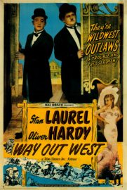 Funny movie quotes fromWay Out Weststarring Stan Laurel, Oliver Hardy, James Finlayson