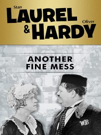 Funny movie quotes from Another Fine Mess - one of Laurel and Hardy's funniest short film