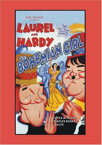 The Bohemian Girl, starring Stan Laurel, Oliver Hardy, Mae Busch