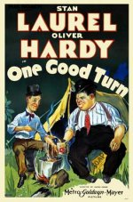 Funny movie quotes from One Good Turn starring Laurel and Hardy