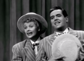 Singing Under the Bamboo Tree by Lucille Ball and Desi Arnaz, in the I Love Lucy episode, The Benefit