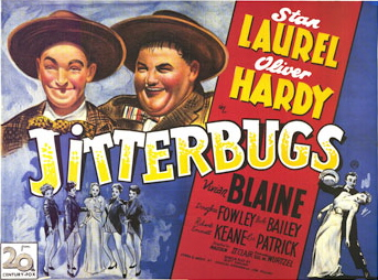 Funny movie quotes from Jitterbugs, starring Stan Laurel and Oliver Hardy