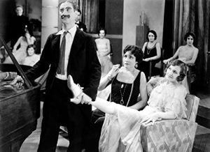 """Groucho Marx at the party in """"Animal Crackers"""""""