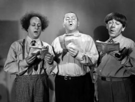 Funny movie quotes from Gents without Cents starring the Three Stooges