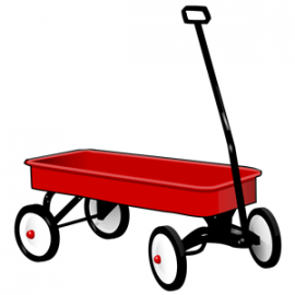 The Red Wagon -A funny, and cute, joke about the power of prayer ... and how a promise is a promise!
