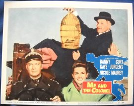 Funny movie quotes from'Me and the Colonel'starring Danny Kaye
