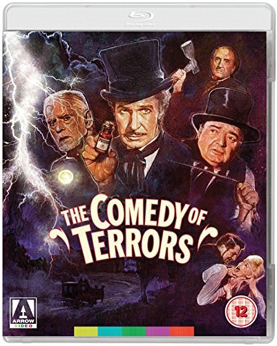 Funny movie quotes from The Comedy of Terrors - a hilarious black comedy starring Vincent Price, Peter Lorre, Boris Karloff, Basil Rathbone, Joyce Jameson