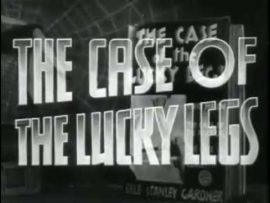 Funny movie quotes from The Case of the Lucky Legs (1935) starring William Warren,