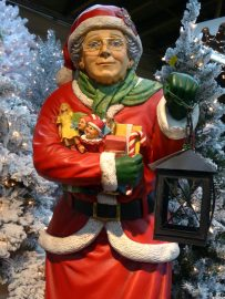 Is Santa Claus secretly a woman? Read and find out!