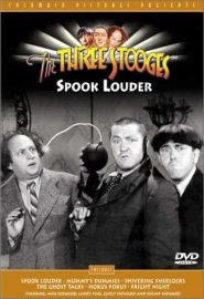 Funny movie quotes from The Three Stooges' Spook Louder (1943) starring Moe Howard, Larry Fine, Curly Howard