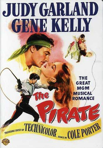 Funny movie quotes from The Pirate, starring Judy Garland, Gene Kelly, Walter Slezak.