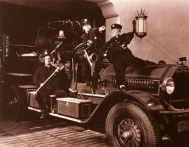 Funny movie quotes from False Alarms - the Three Stooges short film where they're incompetent firefighters