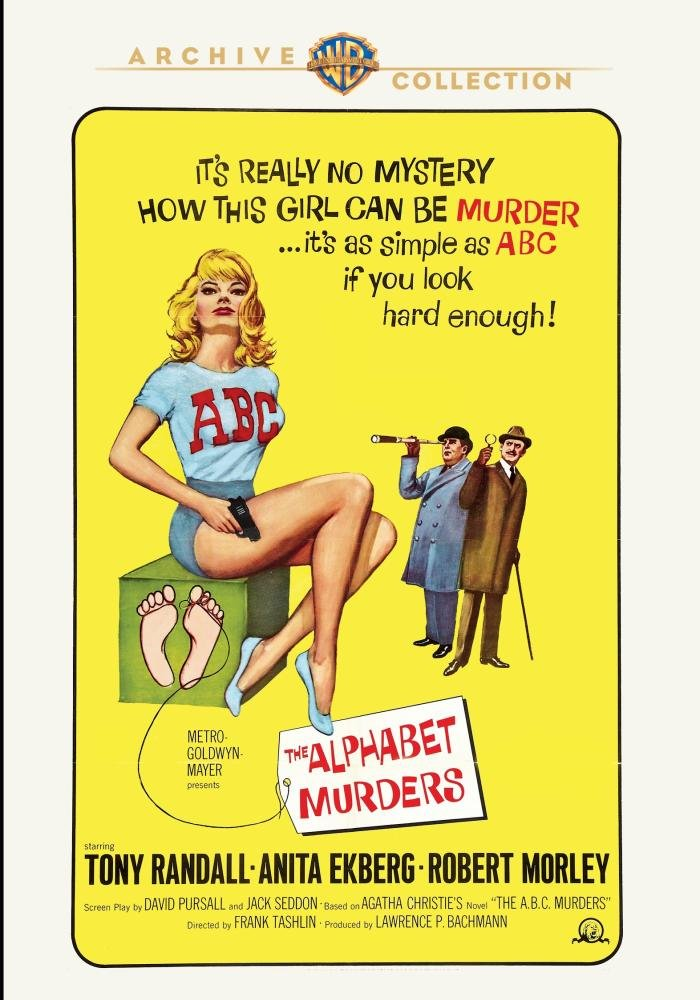 Funny movie quotes from The Alphabet Murders, Tony Randall, Anita Ekberg, Robert Morley
