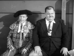 Stan Laurel: I don't want to fight a bull!