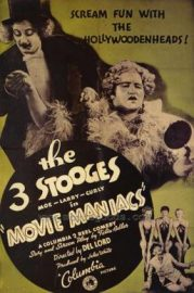 Funny movie quotes from Movie Maniacs starring the Three Stooges