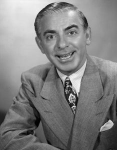 Eddie Cantor - Funny movie quotes about accidents