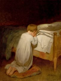 A Child's Christmas Prayer - letter to Santa Claus