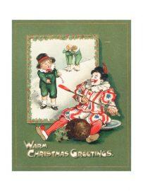 Twas the night before Christmas - clown version