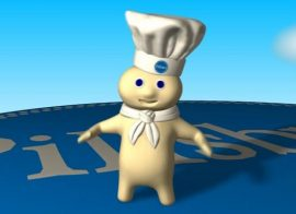 Death notice for the Pillsbury Dough boy
