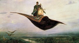 Flying carpet joke