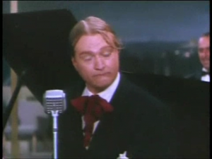 """Red Skelton doing the Irish Tenor routine in """"Lovely to Look At"""""""