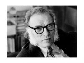 Isaac Asimov photo - meretricious!