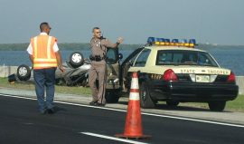 Juggler's sobriety test - I've heard of the highway patrol giving sobriety tests, butthis is ridiculous!