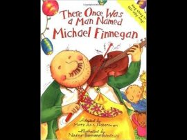 Song lyrics to Michael Finnegan, a classic silly song