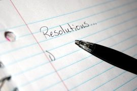 New Year's resolutions that I can actually keep