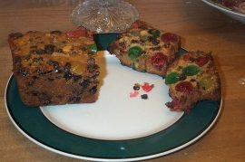 Eat the Last Piece of Fruitcake - Sung to the tune of 'Last Train to Clarksville' by The Monkees - a very funny song parody (unless, of course, you *love* Christmas fruitcake)