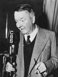 W. C. Fields in 1938, on CBS radio